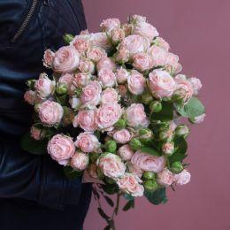Моно из кустовых роз