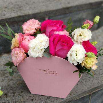 Цветочная сумка 2